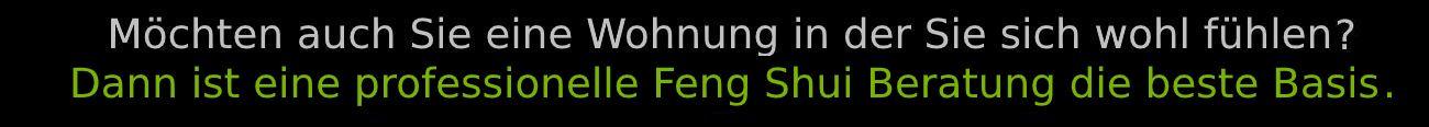 Begrüßung Feng Shui Beratung 2