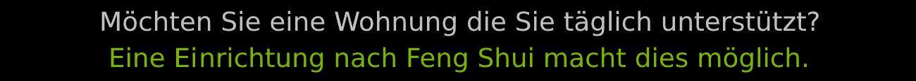 Begrüßung Feng Shui Beratung 4